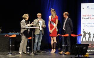 Mandarine CODI Lauréat des Trophées du Conseil par CPCAuvergne